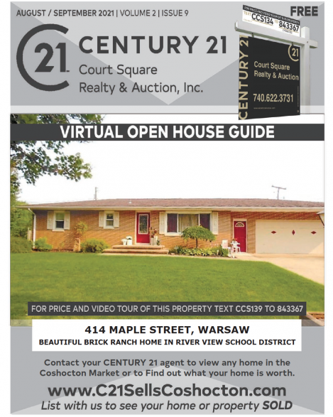 Homes for sale in Coshocton, oh